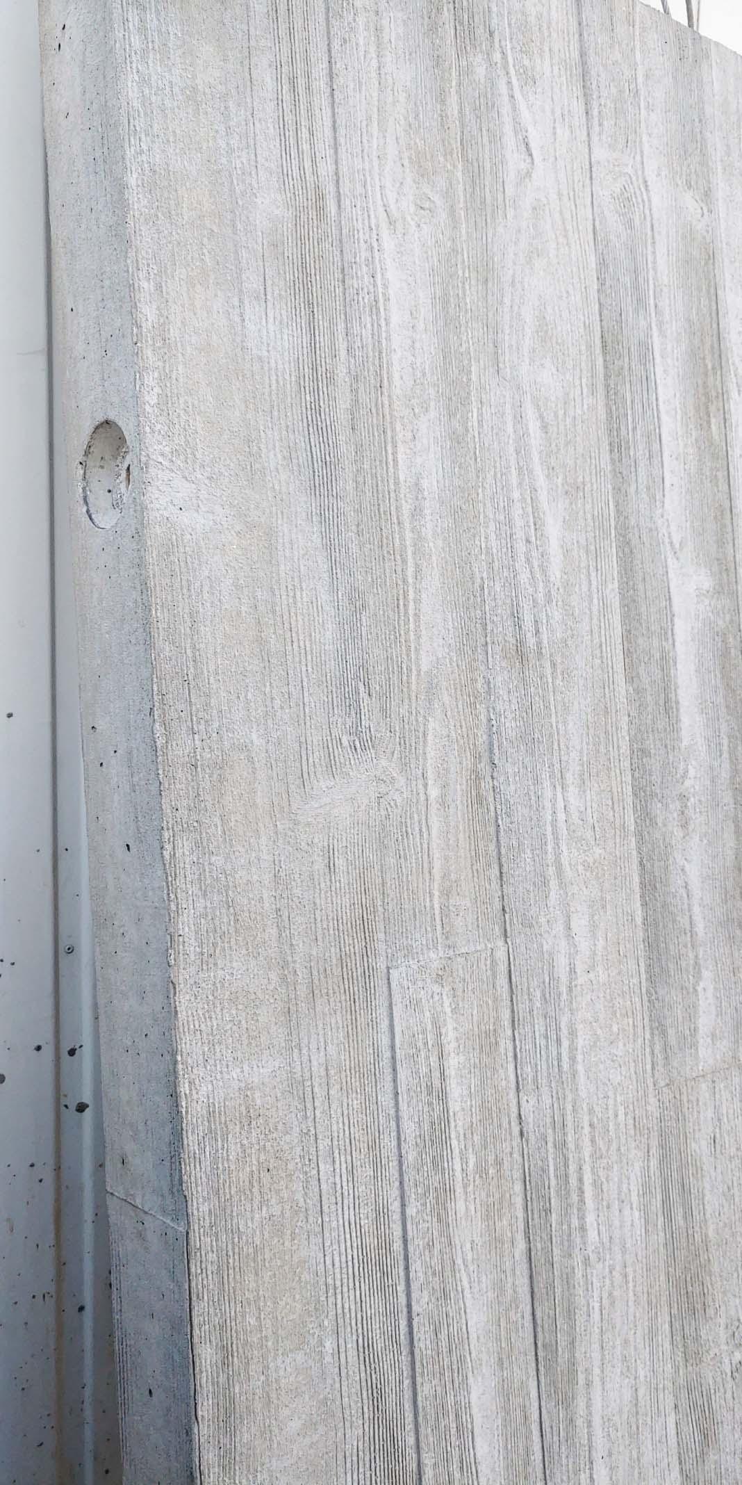 Mustertafel Betonfertigteil-Fassadenelement mit Matrizenschalung