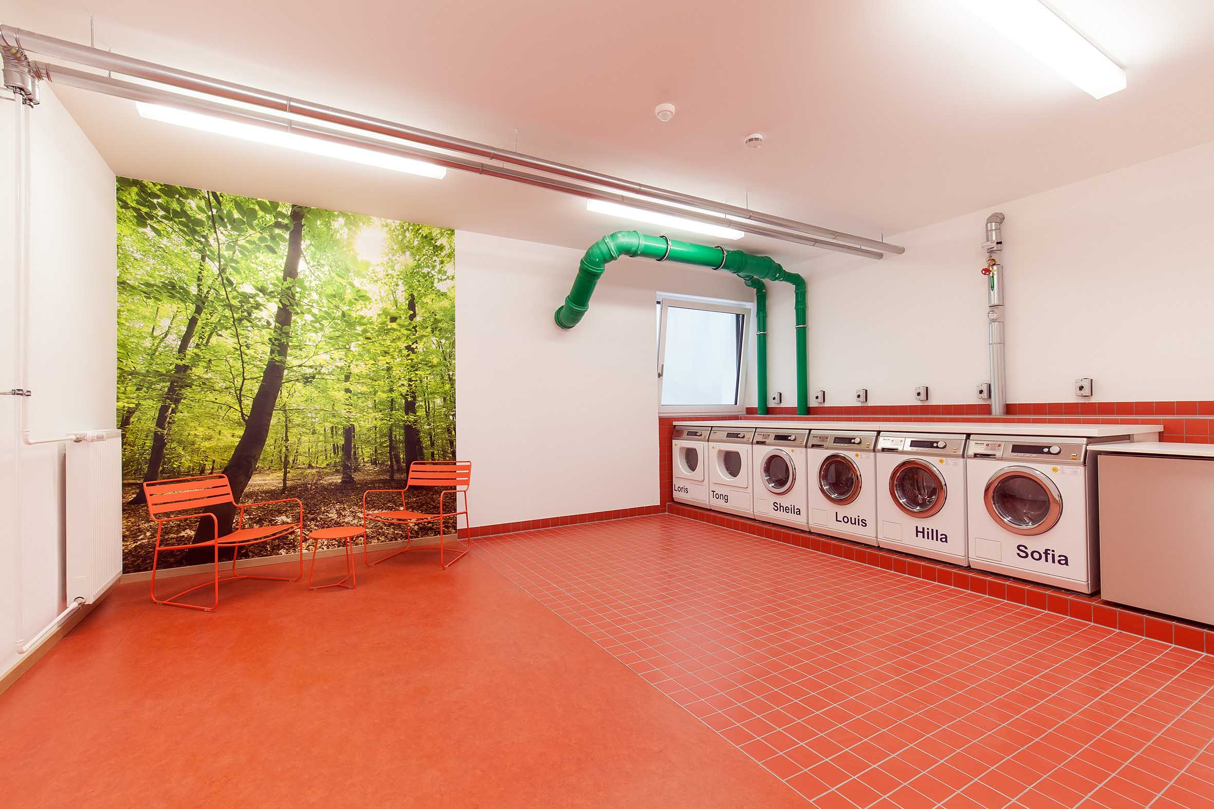 gemeinschaftlicher Waschsalon