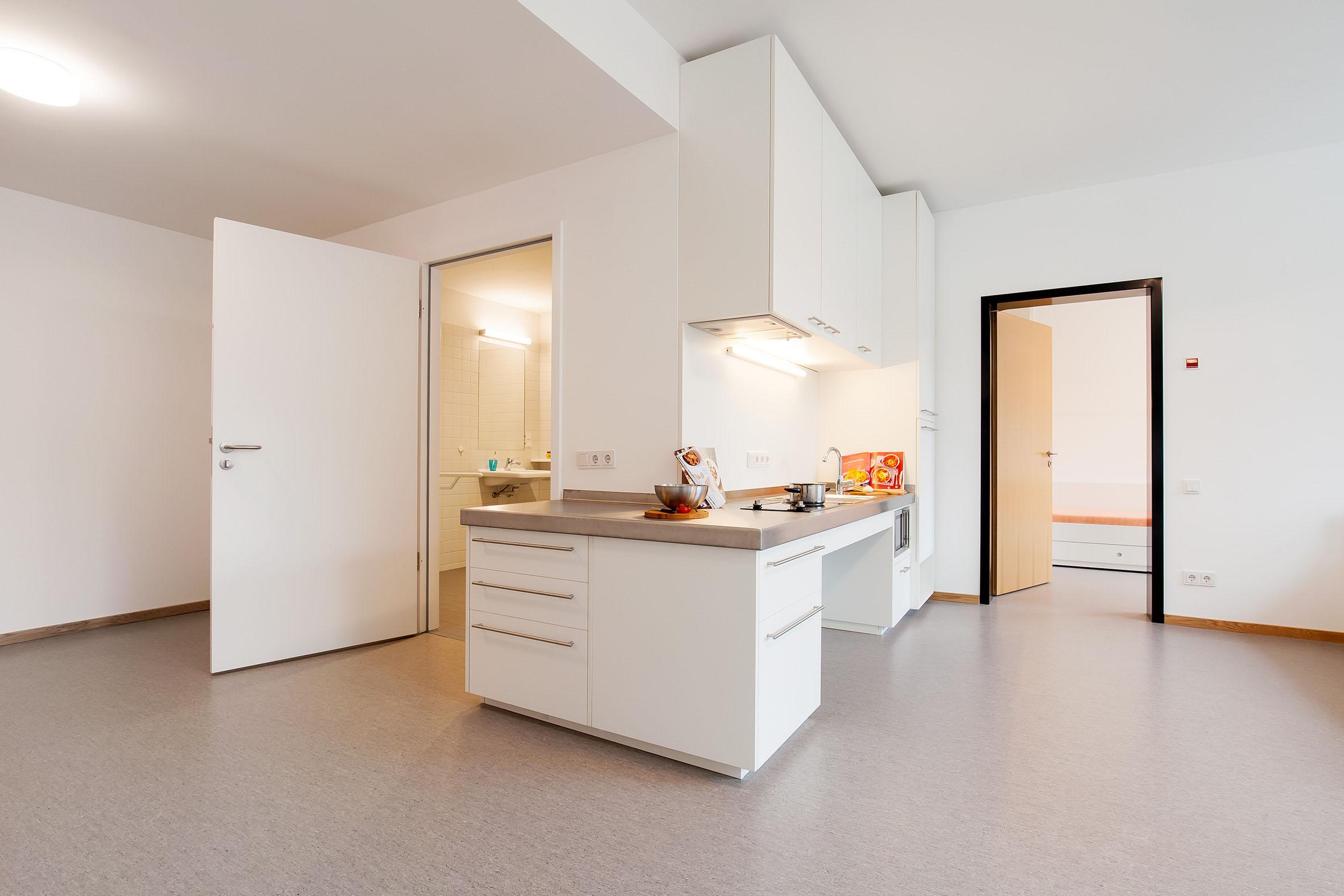 Rollstuhlfahrer-Apartment ready +