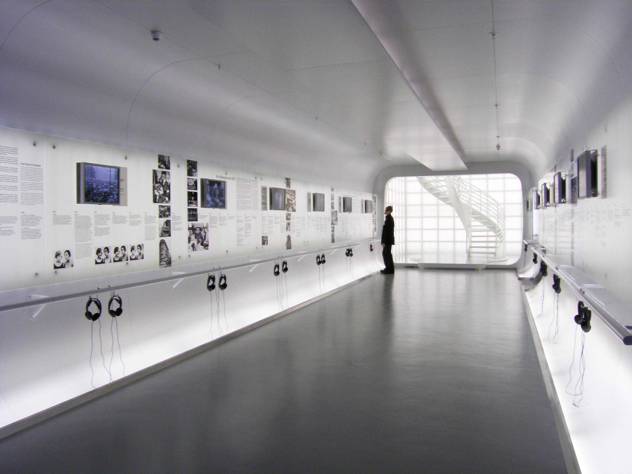 Detail Innenraum - Ausstellung