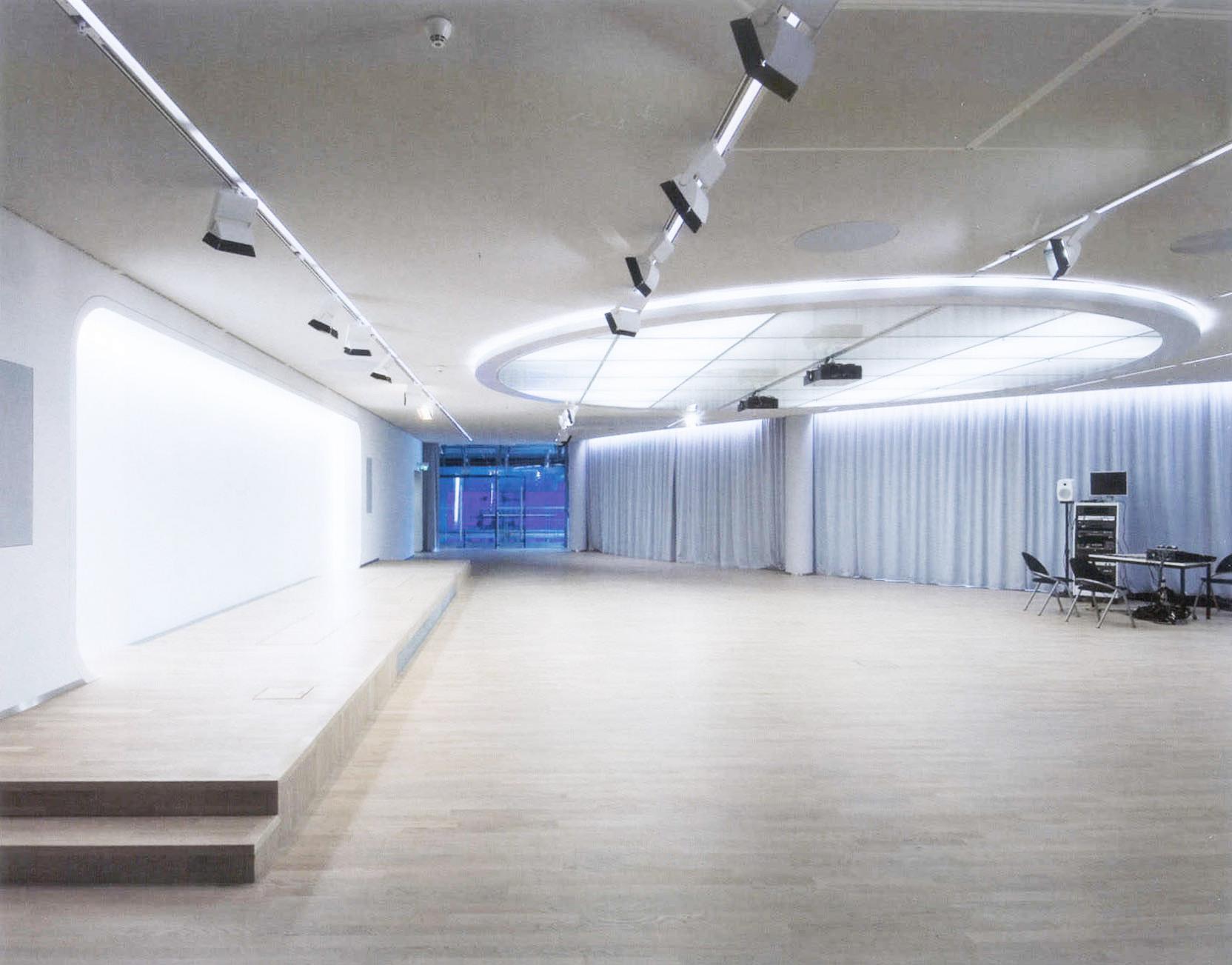 Detail Innenraum - Veranstaltungsbereich