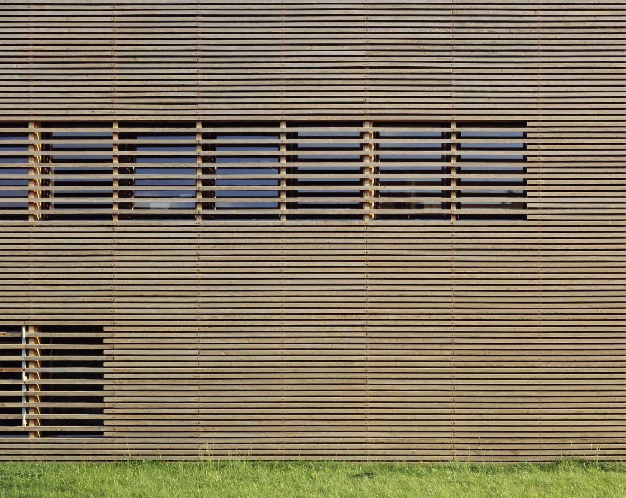 Lärchenholzfassade