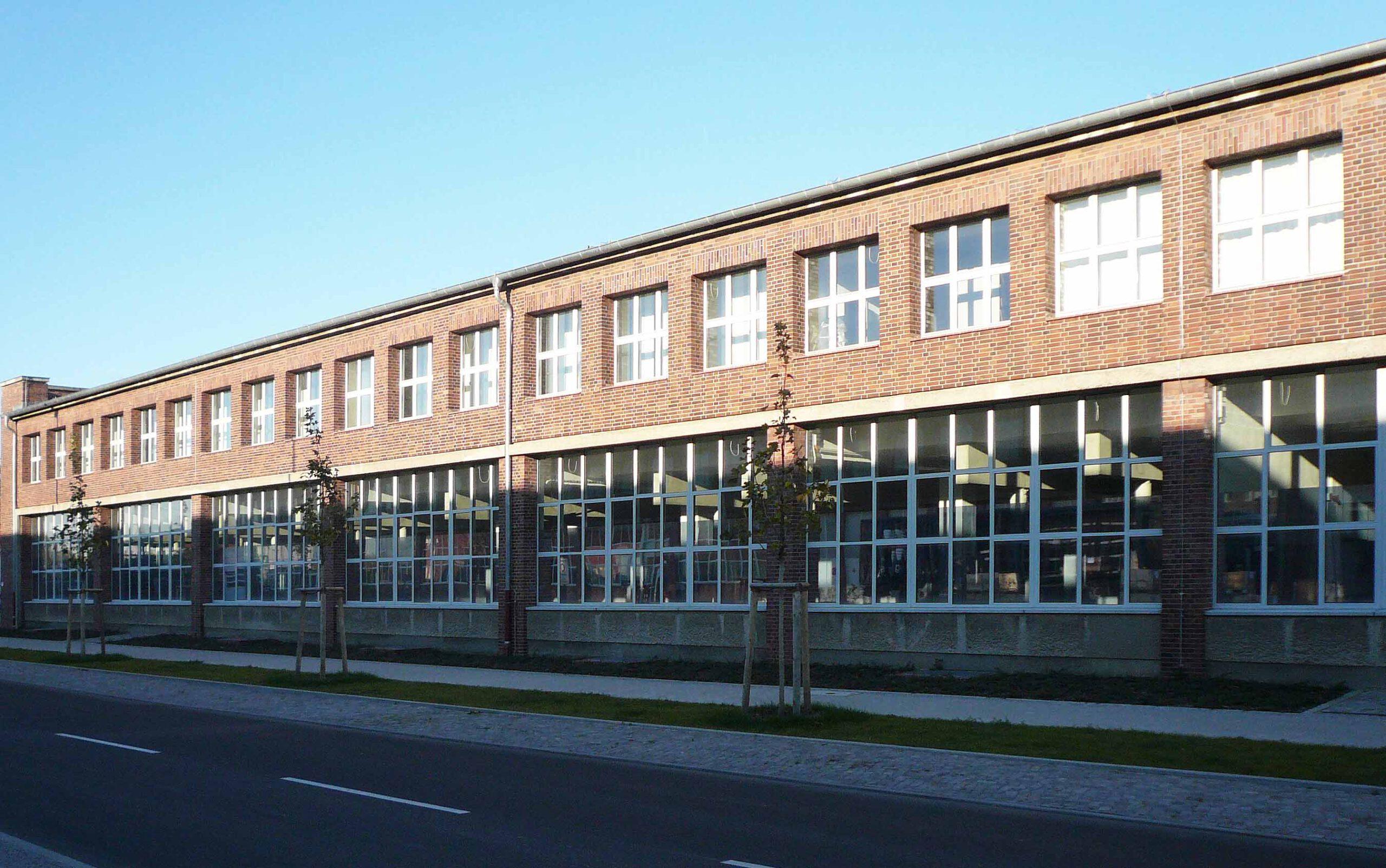 Längsseite Gebäude 10