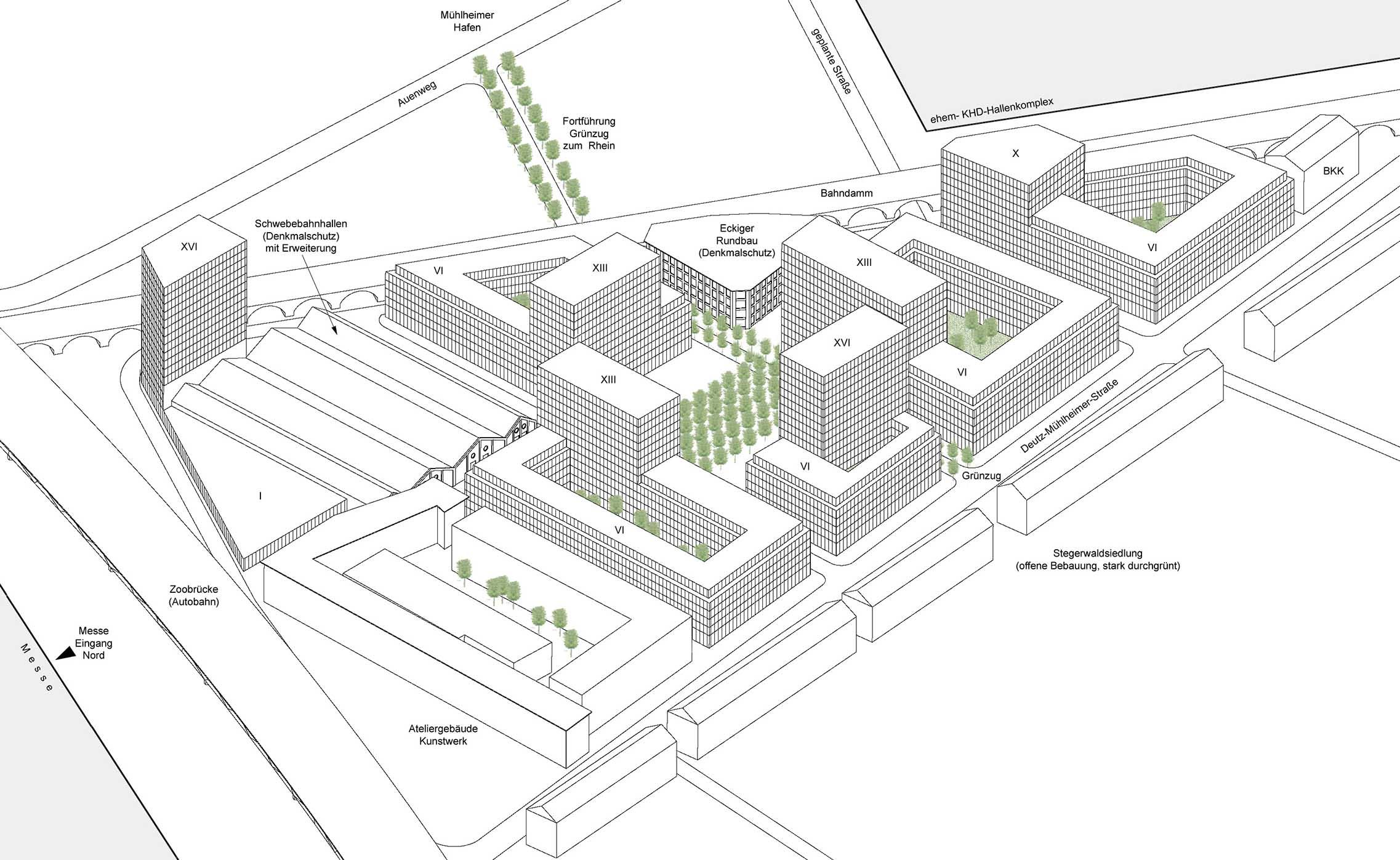 REWE-Konzernzentrale Standortuntersuchungen in Köln