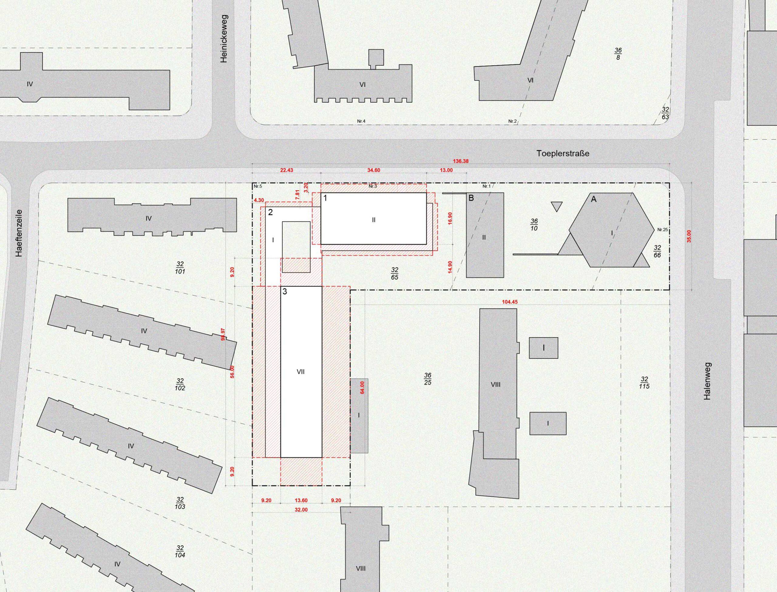 Lageplan Planungsrecht