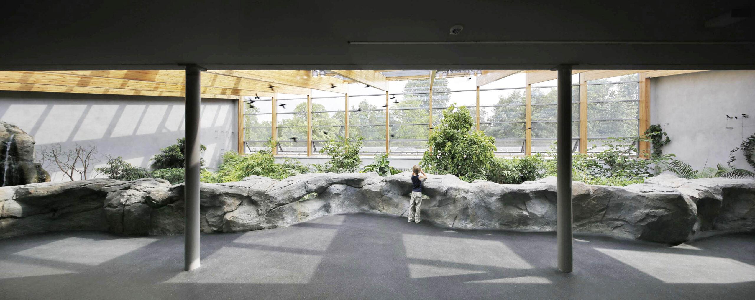 Panorama Galerie Freiflughallen