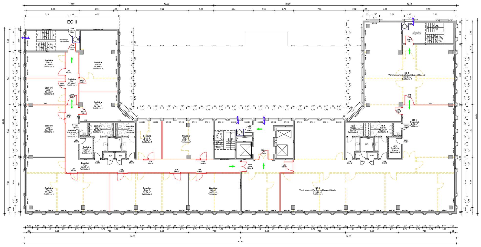 4. Obergeschoss (Beispielgeschoss)