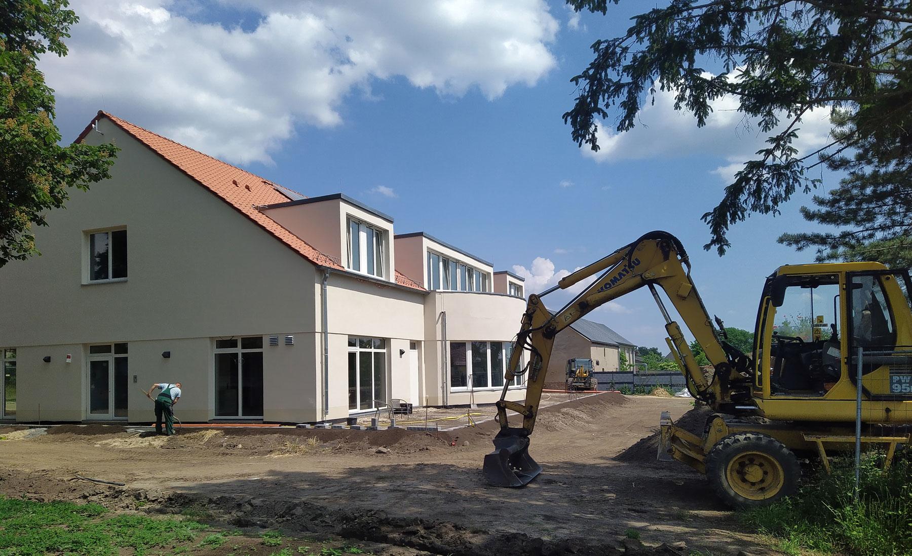 Neubau Seminar- und Gästehaus  Begegnungsstätte Gollwitz